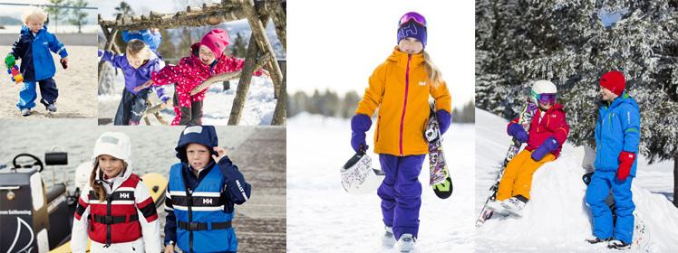 Kinder - Sportbekeidung, Outdoorbekleidung vo